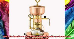 Elektra ARTSX Microcasa Semiautomatica Commercial Espresso Machine  Copper  Brass