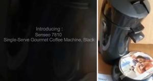 Senseo 7810 Single Serve Gourmet Coffee Machine, Black