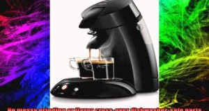 Senseo 7810 SingleServe Gourmet Coffee Machine Black