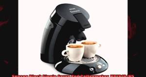 Senseo Black Single Serve Pod Coffeemaker HD781065