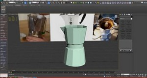 3D Tutorial | Modeling A Italian Coffee Pot In 3dsmax (Part 02)