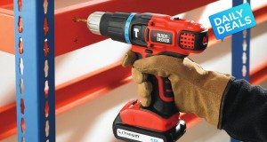 55% OFF Black and Decker 18V Lithium Ion 2 Gear Hammer Drill