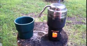 Afternoon Coffee Outside With Esbit Coffee Maker