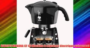 BIALETTI MOKONA CF 40 Machine à espresso électrique qui permet de