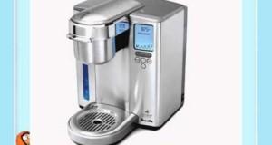Breville BKC700XL Gourmet Single-Serve Coffeemaker w/ K-Cup Carousel & Coffee/ Espresso Descaler