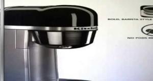 Check KitchenAid Personal Coffee Maker Machine – Silver (KCM0401CCU) Slide