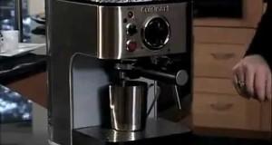 Coffee and Cuisinart EM-100 1000 Watt 15-Bar Stainless Steel Espresso Maker