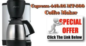 Coffee Maker Thermal Carafe   Capresso 440 05 MT 500