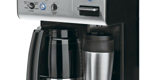 Cuisinart CHW 12 Programmable Coffeemaker, SteelBlack, 12 Cup