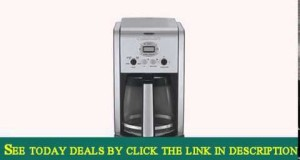 Cuisinart DCC-2600 Brew Central 14-Cup Programmable Coffeemaker with Glass Carafe Certified