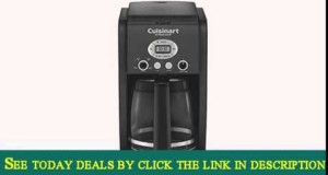 Cuisinart DCC-2650 Extreme Brew 12-Cup Programmable Coffeemaker – Black Certified Refurbished