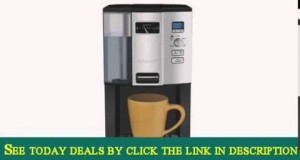 Cuisinart DCC-3000FR 12 Cup Coffee on Demand Programmable Coffee Maker, Chrome
