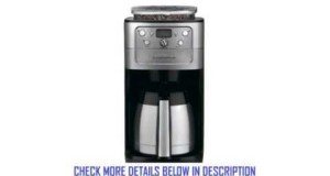 Cuisinart DGB900BC Grind and Brew Thermal 12Cup Automatic Coffeemaker Brushed StainlessBlack