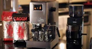 Gaggia 14101 Classic Espresso Machine, Brushed Stainless Steel; classic espresso maker