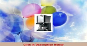Gaggia Baby 74820 Coffee Maker Black