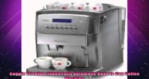 Gaggia Titanium 74889 Fully Automatic Bean to Cup Coffee Machine