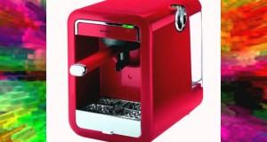 Guzzini 28200155 GPlus Machine à Café Expresso Single Rouge 235 x 16