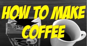 How to MAKE COFFEE without a coffee maker or Keurig