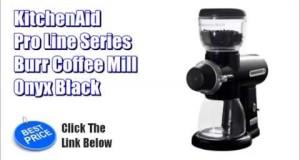 KitchenAid Coffee Mill – KitchenAid Pro Line Series Burr Coffee Mill, Onyx Black