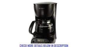Mr Coffee DRX5 4Cup Programmable Coffeemaker Black