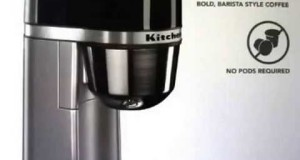 New KitchenAid Personal Coffee Maker Machine – Silver (KCM0401CC Top List