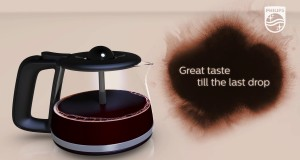 Philips AromaSwirl for drip coffee machines – Great taste till the last drop of coffee