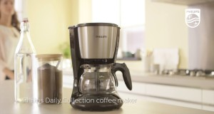 Philips Daily Collection Coffee maker – AromaSwirl for the best taste experience – paper filter