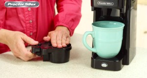 Proctor Silex Single Serve Coffee Maker 49961 49964