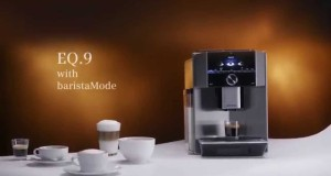 Siemens EQ.9 Fully Automatic Coffeemaker with baristaMode